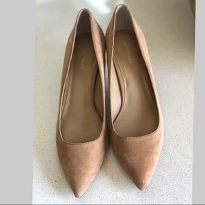 Ann Taylor Eryn Beige Suede shoes